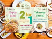 Join Us for Our '2 for 1' Special Offer